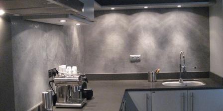 cuisine en gravel grey