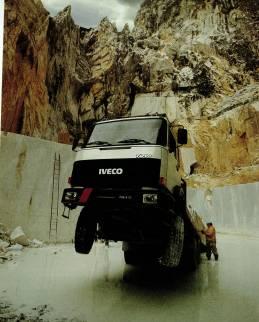 chargement du camion