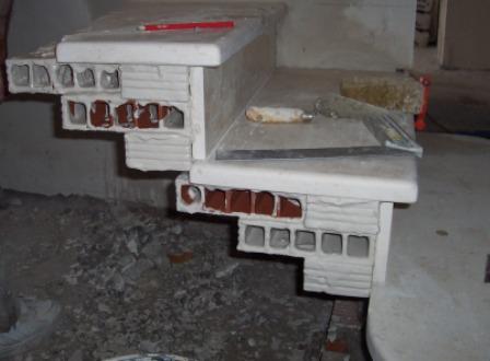fabrication escalier sur voute sarrasine