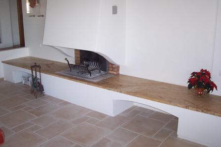 plan de cheminée