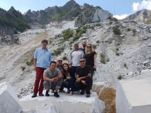 L'équipe de la Marbrerie Provençale