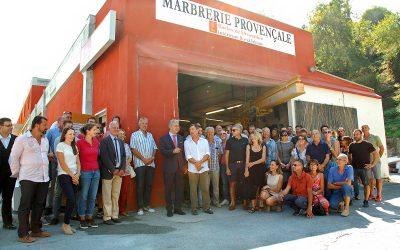 La Marbrerie Provençale a fêté ses 70 ans
